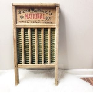 National Washboard Company 801 The Brass King